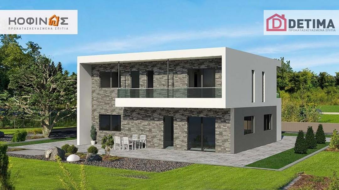 Διώροφη Κατοικία D-200, συνολικής επιφάνειας 200,10 τ.μ.