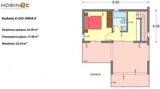 Συγκρότημα Κατοικιών E-243, Συνολικής Επιφάνειας 243.83 τ.μ.