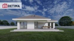Ισόγεια Κατοικία με Σοφίτα IS-277, συνολικής επιφάνειας 277.05 τ.μ.