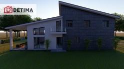 Διώροφη κατοικία D-163, συνολικής επιφάνειας 163.70 τ.μ.