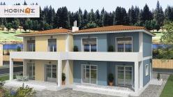 Διώροφη Κατοικία D-115, Συνολικής επιφάνειας 115,20 τ.μ.