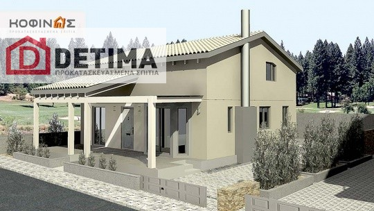 Ισόγεια Κατοικία με Σοφίτα IS-140, συνολικής επιφάνειας 140,30 τ.μ.